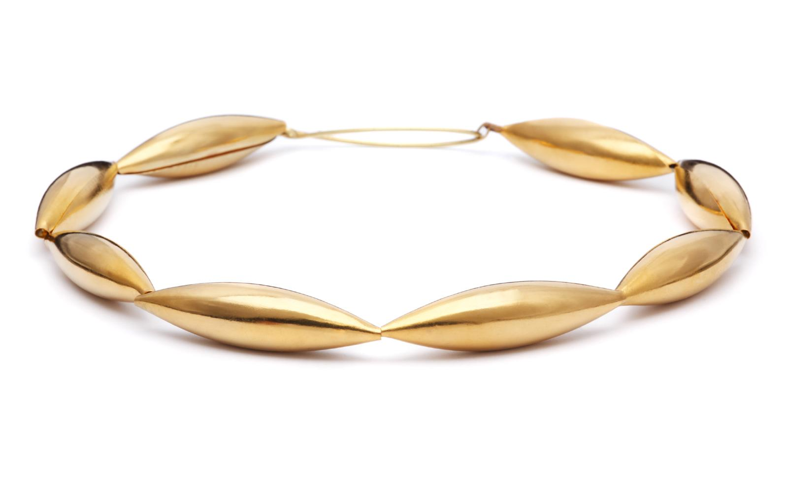 necklace DADEL gold 24ct