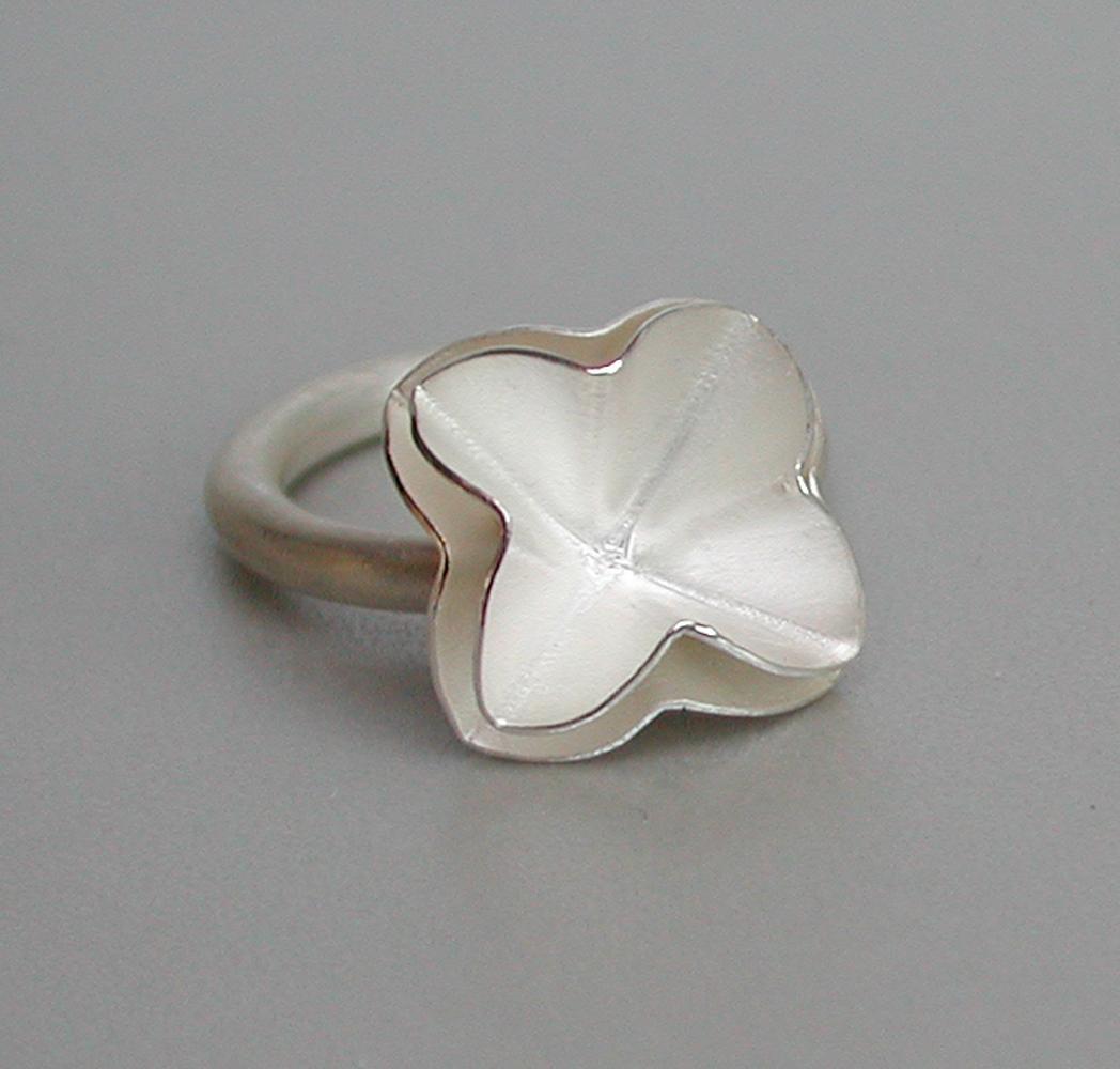 ring ALFALFA 2 silver 925