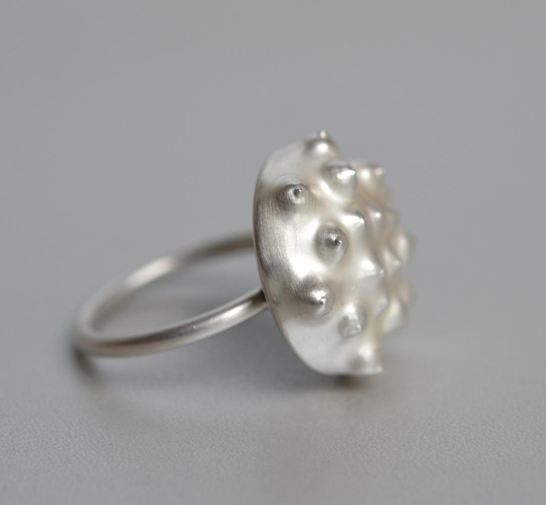 ring UNTOUCHABLE silver