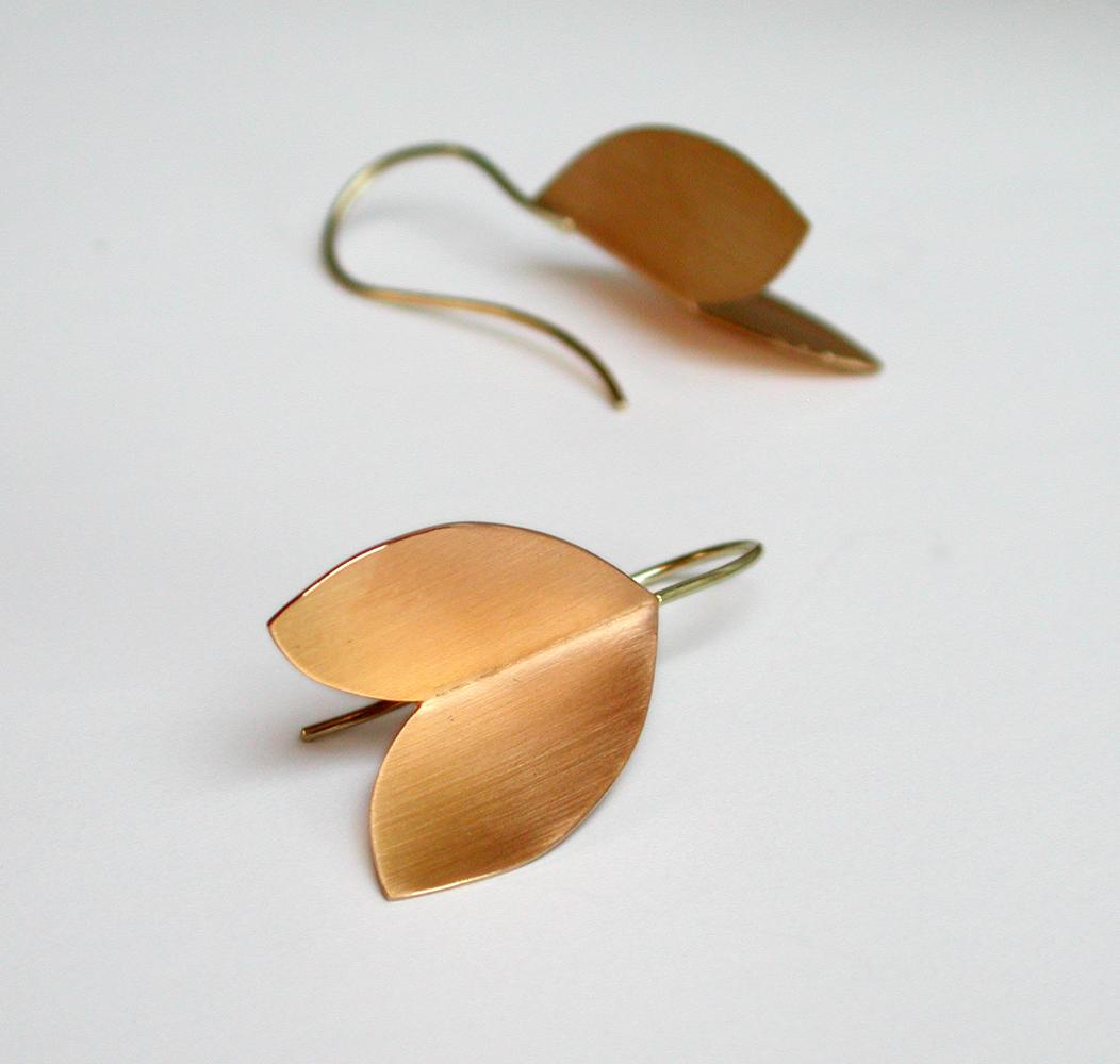 earrings AUTUMN gold