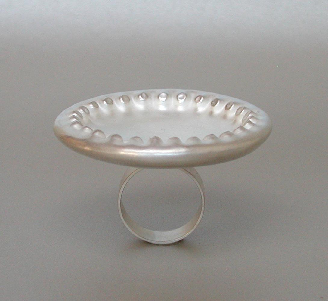 ring ALCHEMILLA silver