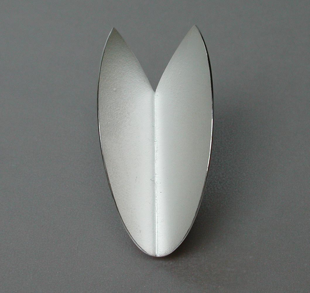 brooch TULIP silver