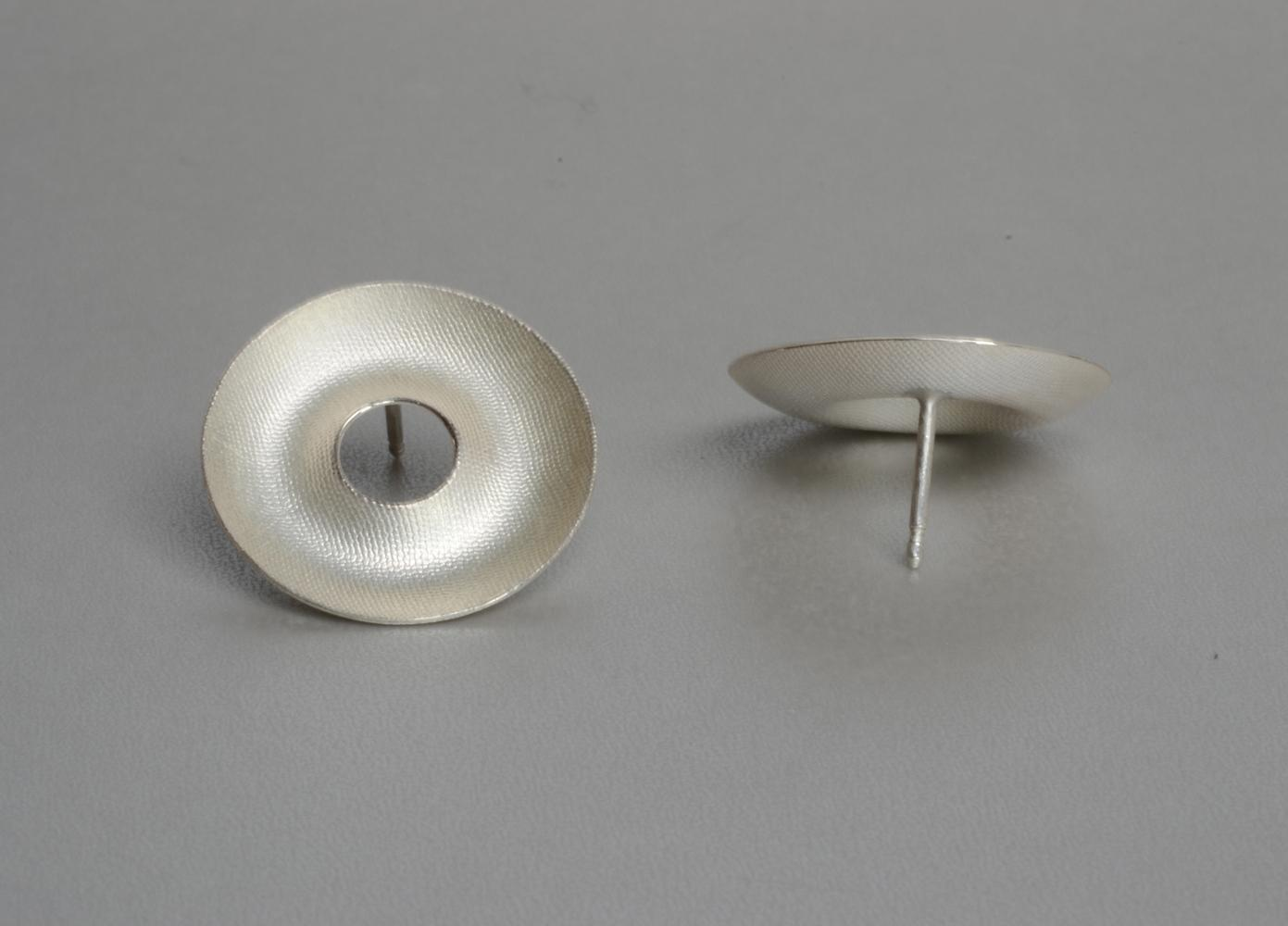 earrings ROUND & ROUND silver